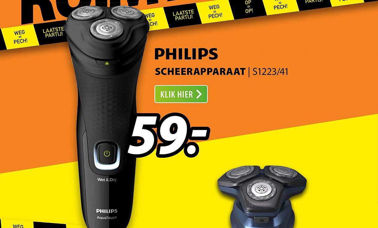 Expert Philips Scheerapparaat |S1223-41