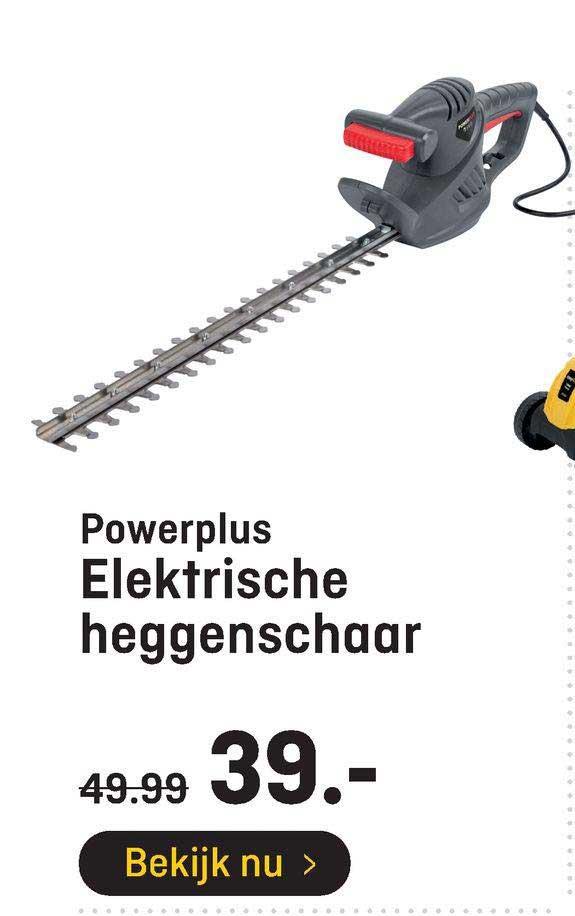 Hubo Powerplus Elektrische Heggenschaar