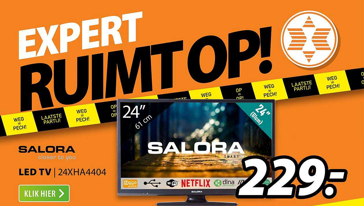 Expert Salora LED TV | 24XHA4404
