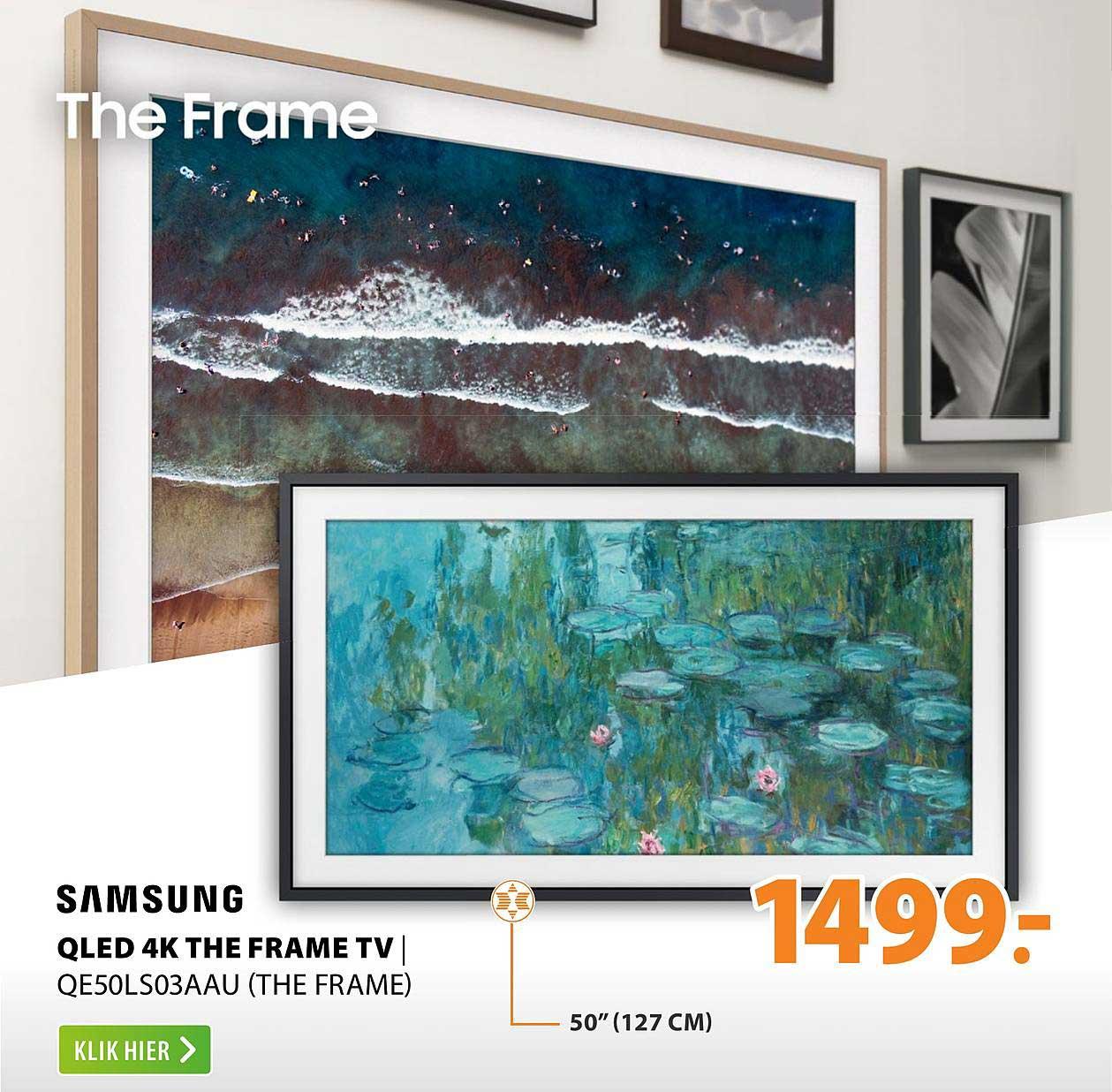 Expert Samsung QLED 4K The Frame TV | QE50LS03AAU (The Frame)