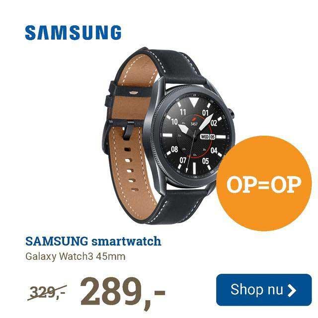 BCC Samsung Smartwatch Galaxy Watch3 45mm