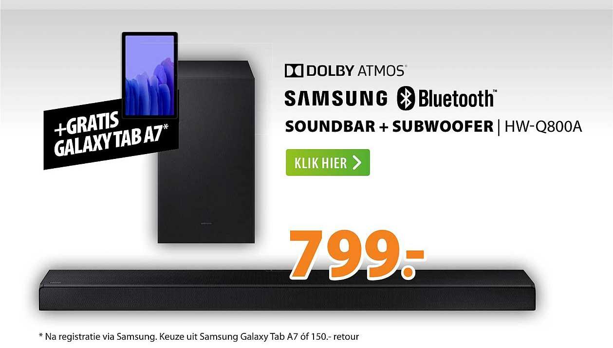 Expert Samsung Soundbar + Subwoofer | HW-Q800A