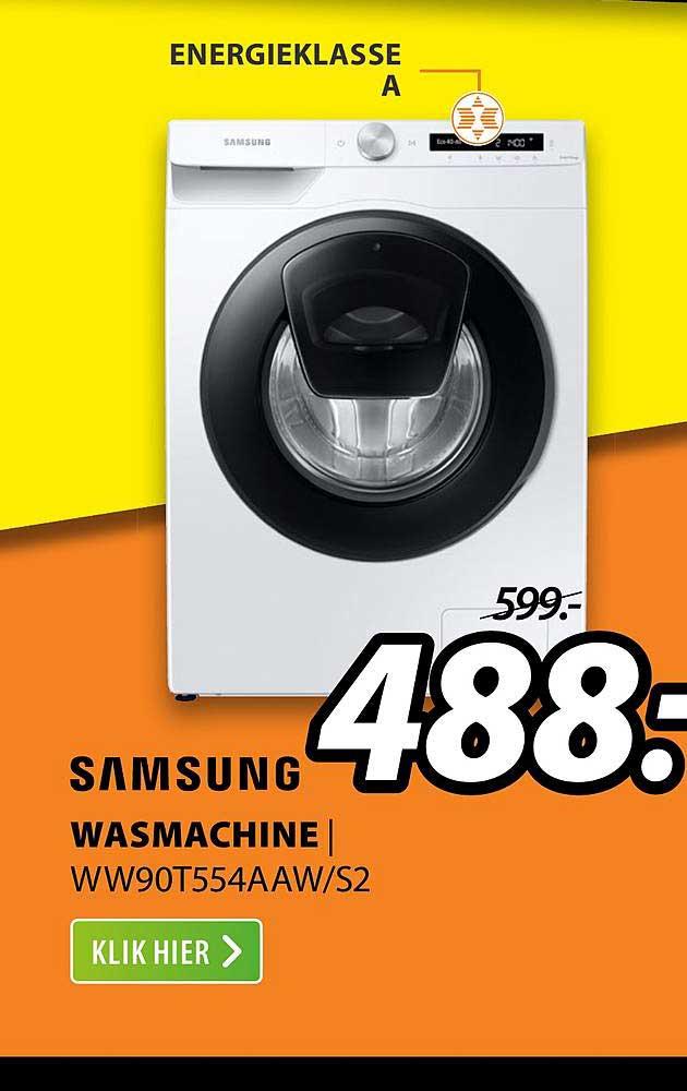 Expert Samsung Wasmachine | WW90T554AAW-S2