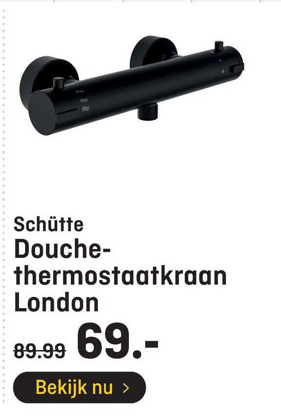 Hubo Schütte Douchethermostaatkraan London