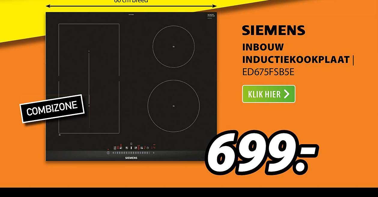 Expert Siemens Inbouw Inductiekookplaat | ED675FSB5E