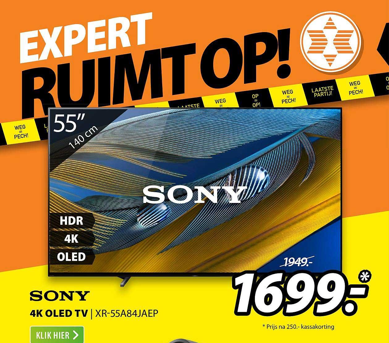 Expert Sony 4K OLED TV | XR-55A84JAEP
