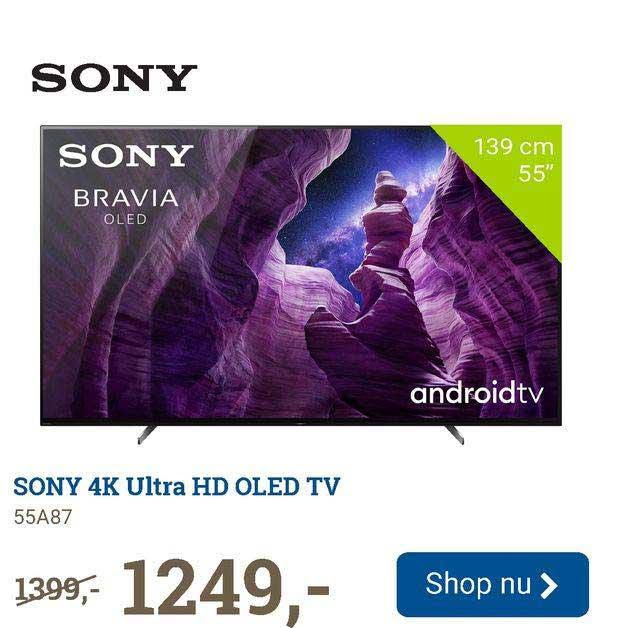 BCC Sony 4K Ultra HD OLED TV 55A87