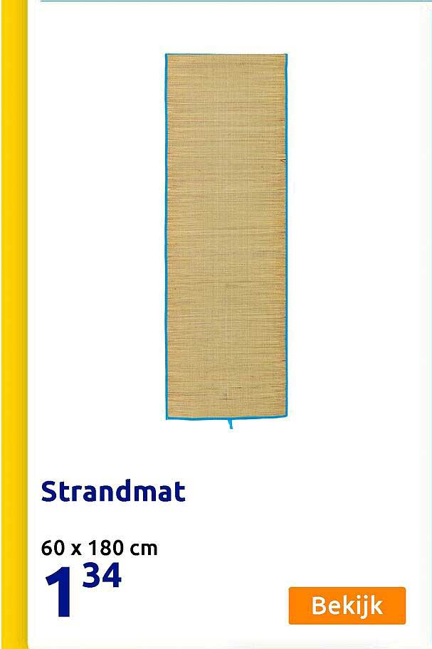 Action Strandmat 60 X 180 Cm