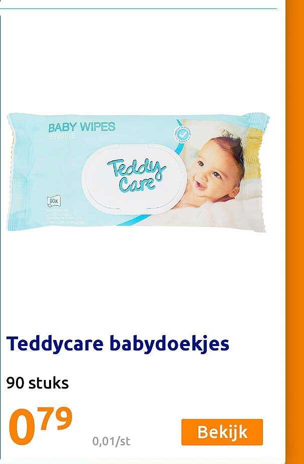 Action Teddycare Babydoekjes