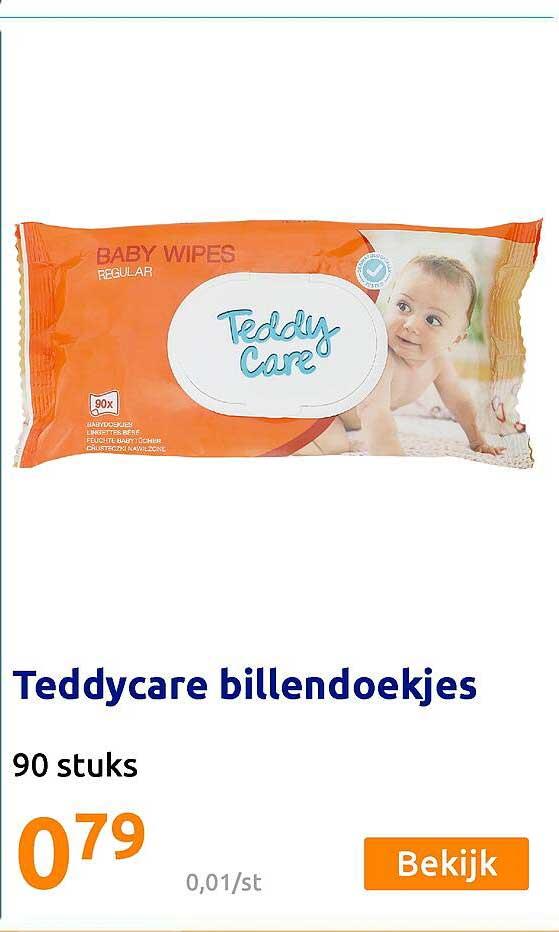Action Teddycare Billendoekjes