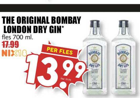 MCD Supermarkt The Original Bombay London Dry Gin