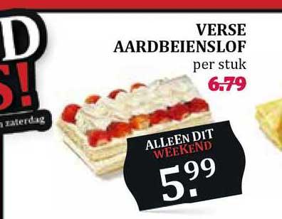 MCD Supermarkt Verse Aardbeienslof