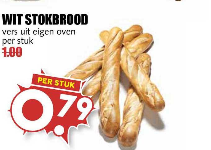 MCD Supermarkt Wit Stokbrood
