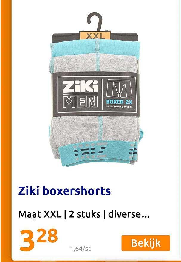 Action Ziki Boxershorts