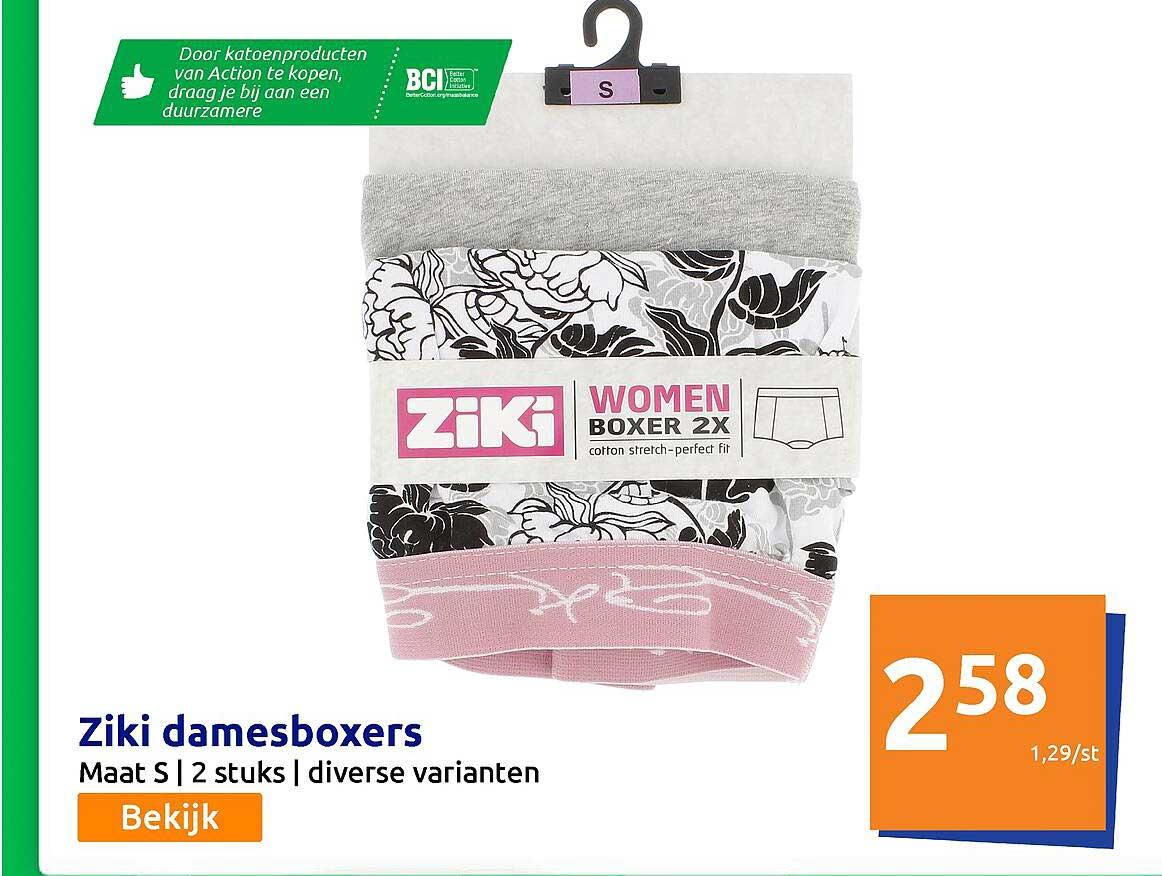 Action Ziki Damesboxers