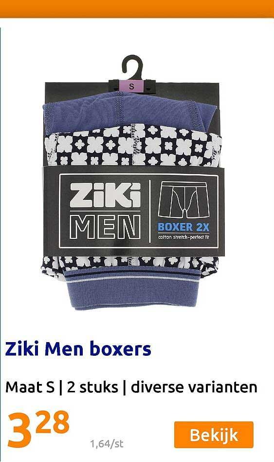 Action Ziki Men Boxers