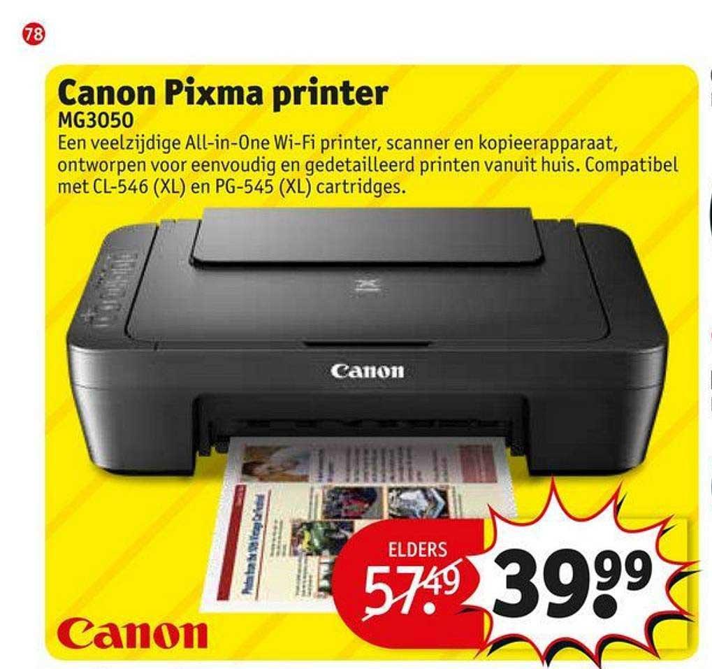 Kruidvat Canon Pixma Printer