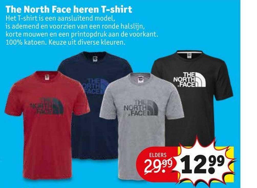 Kruidvat The North Face Heren T Shirt