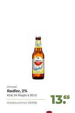 Bidfood Amstel Radler, 2%