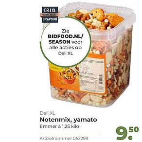 Bidfood Deli XL Notenmix, Yamato
