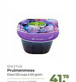 Bidfood One 2 Fruit Pruimenmoes
