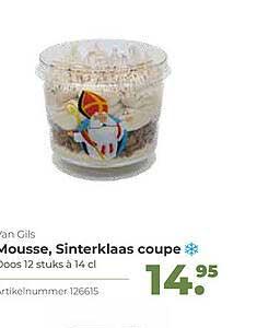 Bidfood Van Gils Mousse, Sinterklaas Coupe