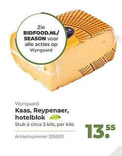 Bidfood Wyngaard Kaas, Reypenaer, Hotelblok