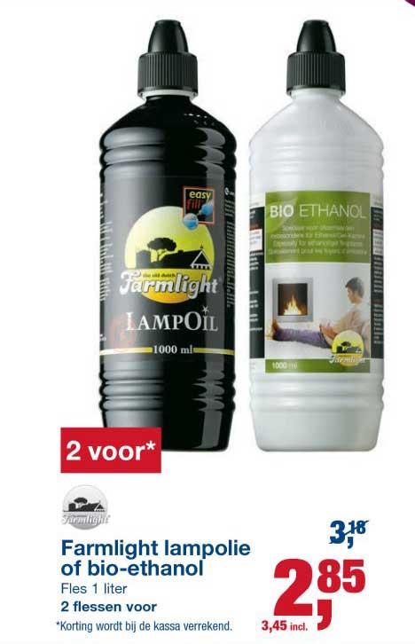 Makro Farmlight Lampolie Of Bio Ethanol