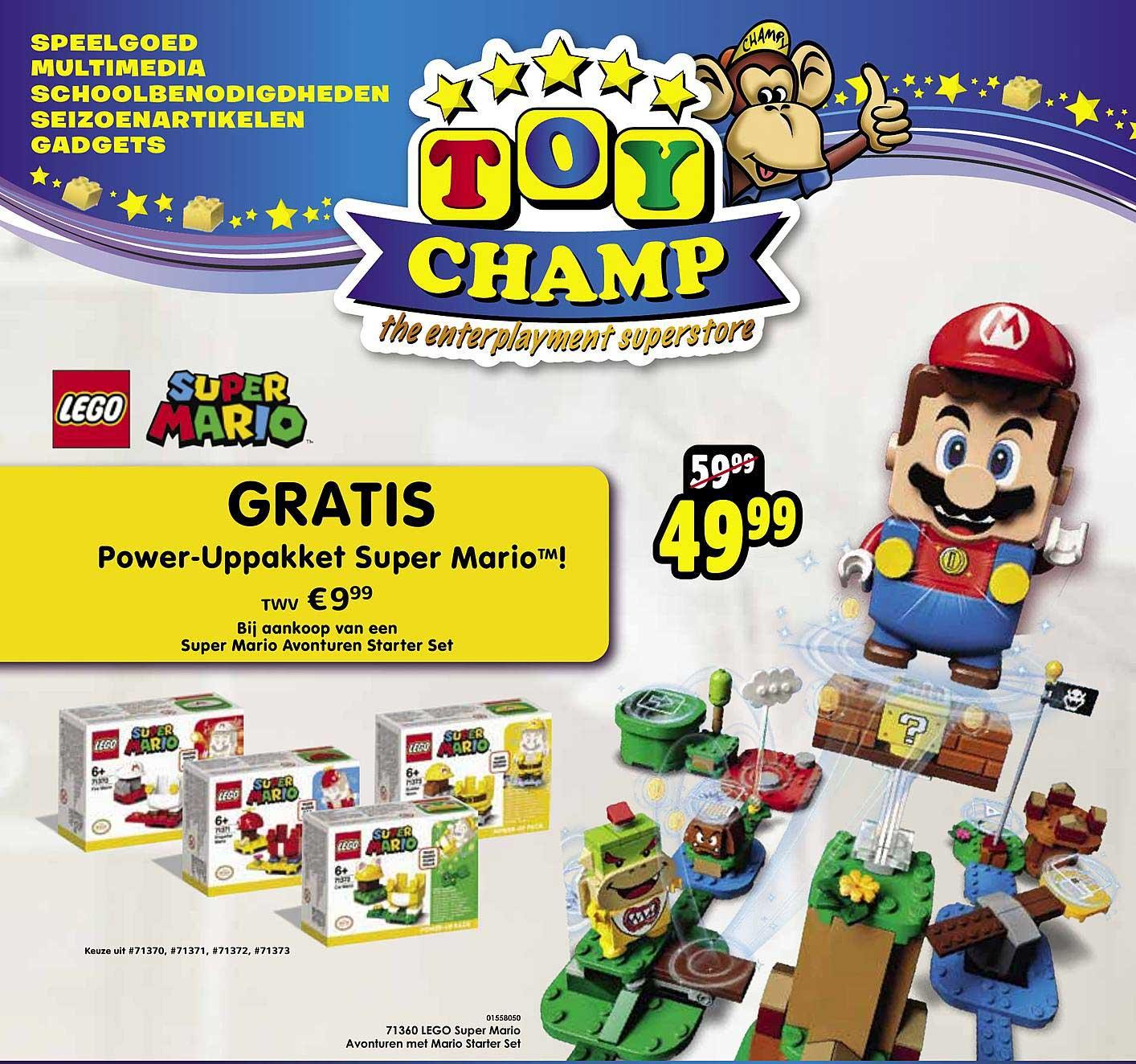 Toychamp 71360 Lego Super Mario Avonturen Met Mario Starter Set Speelgoed