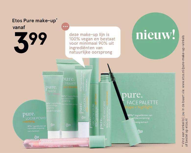 Etos Etos Pure Make-up Vanaf