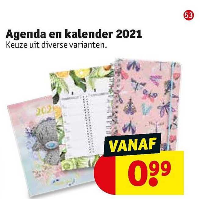 Kruidvat Agenda En Kalender 2021