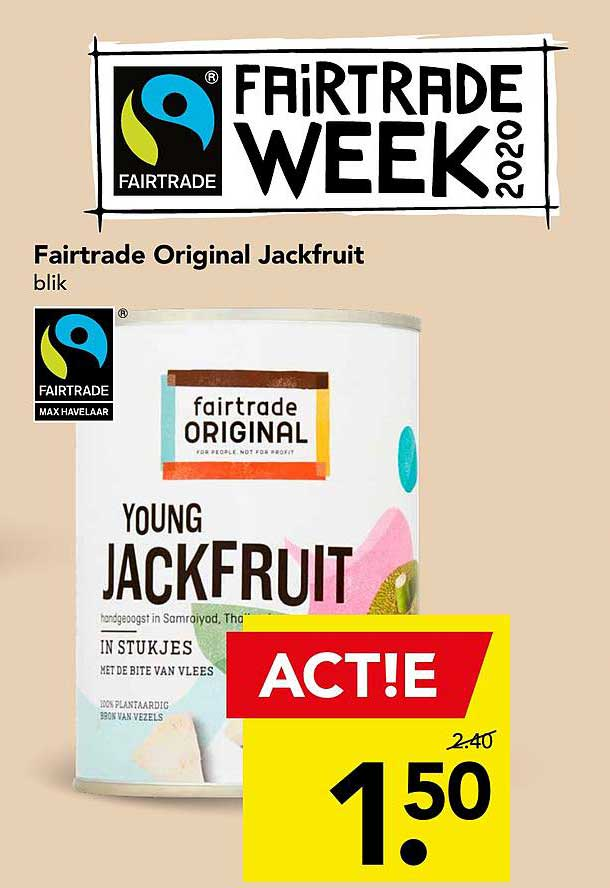 DEEN Fairtrade Original Jackfruit