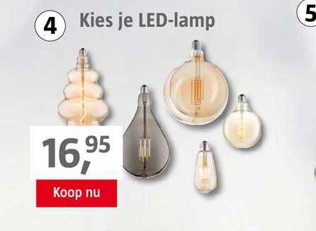 BAUHAUS Kies Je LED-Lamp