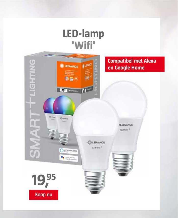 BAUHAUS LED-Lamp 'Wifi'