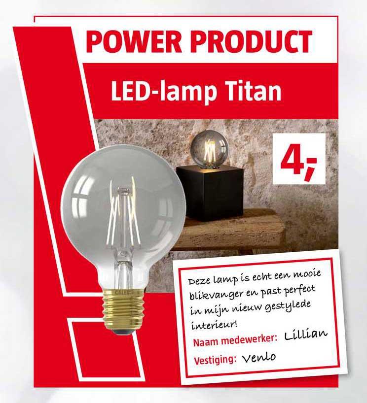 BAUHAUS LED-Lamp Titan