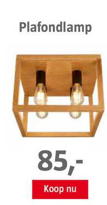 BAUHAUS Plafondlamp