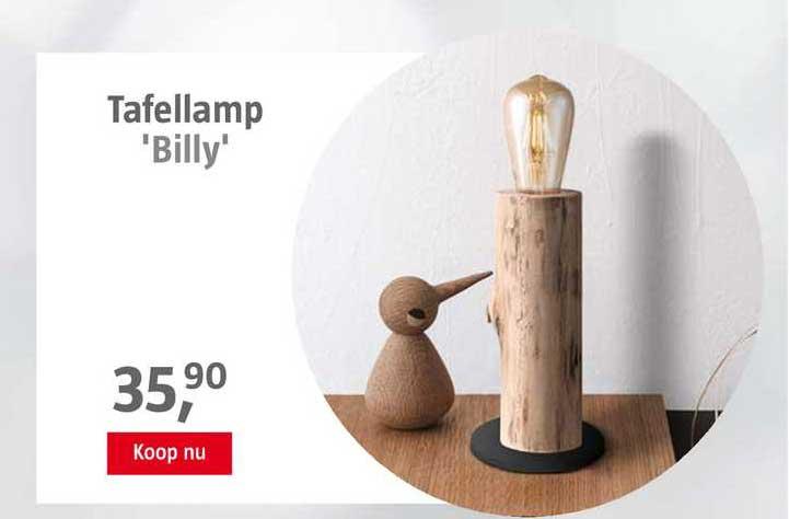 BAUHAUS Tafellamp 'Billy'
