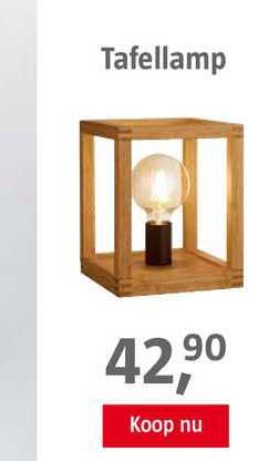 BAUHAUS Tafellamp