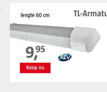 BAUHAUS TL-Armatuur LED 120 Cm 60 Cm