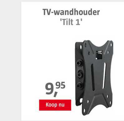 BAUHAUS TV-Wandhouder 'Tilt 1'
