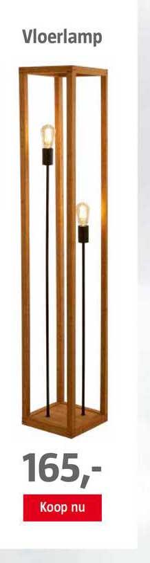 BAUHAUS Vloerlamp