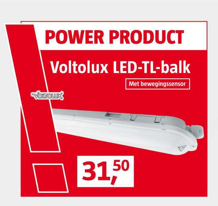 BAUHAUS Voltolux LED-TL-Balk