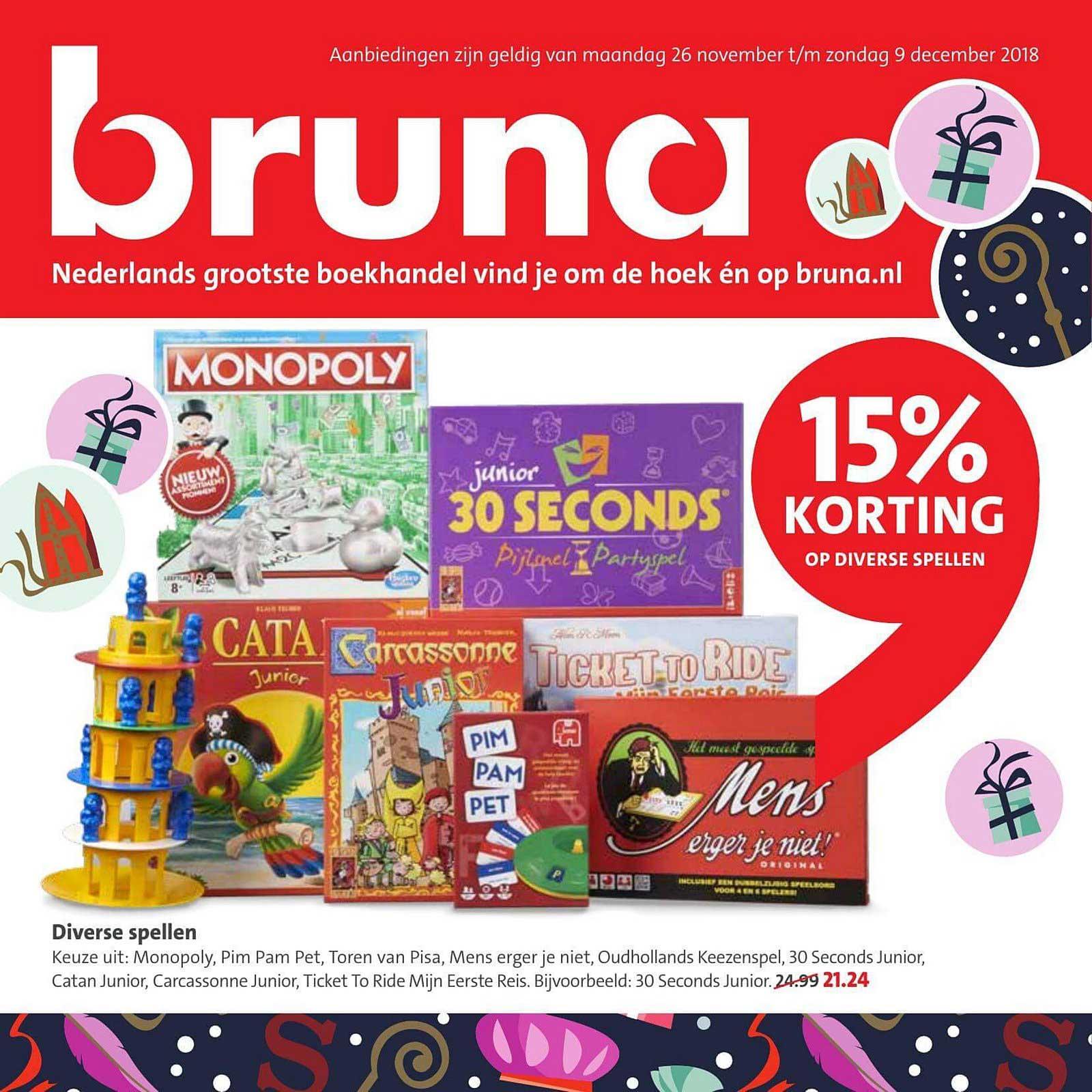 Bruna 15% Korting Op Diverse Spellen