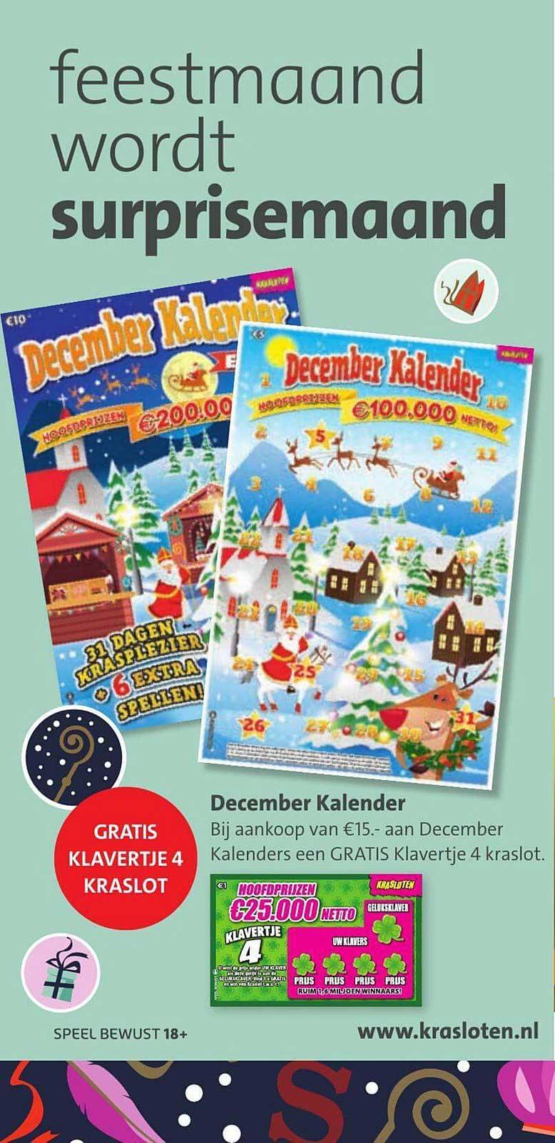 Bruna December Kalender