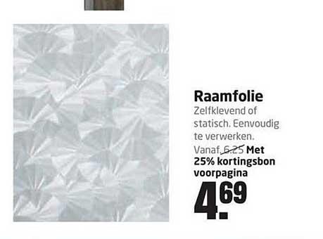 Formido Raamfolie