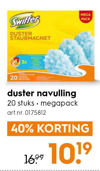 Blokker Swiffer Duster Navulling
