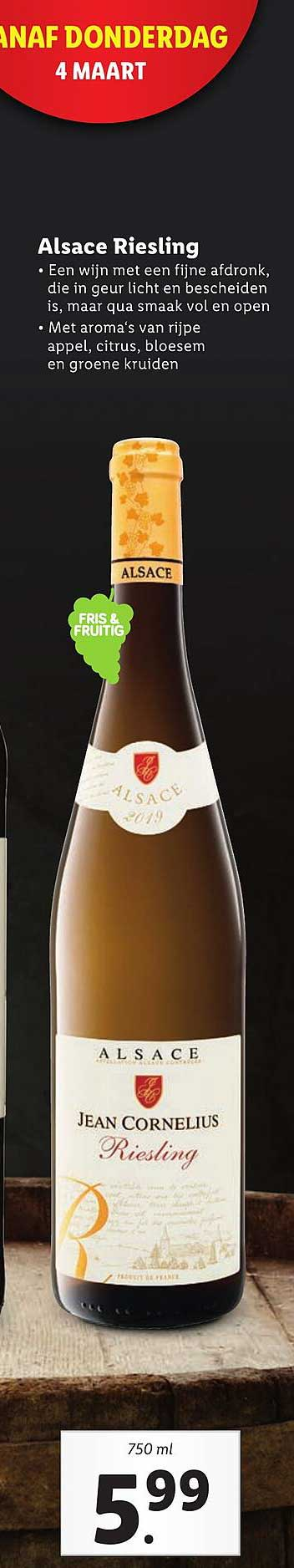 Lidl Alsace Riesling