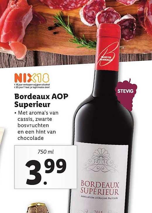 Lidl Bordeaux AOP Superieur
