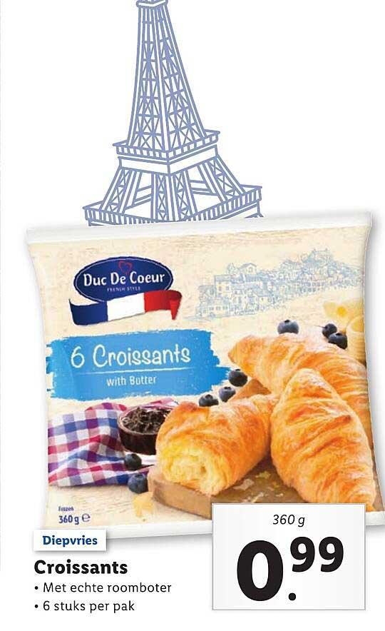 Lidl Croissants