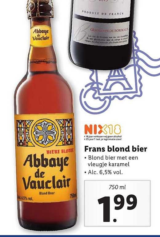Lidl Frans Blond Bier
